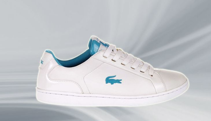 Weiße Sneakers 2014: Lacoste