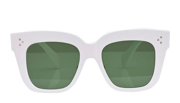 Weiße Sonnenbrille von Celine
