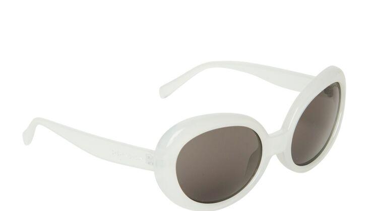 Weiße Sonnenbrille von Cheap Monday