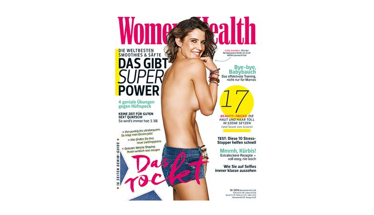 Women's Health Cover 2015: Cobie Smulders