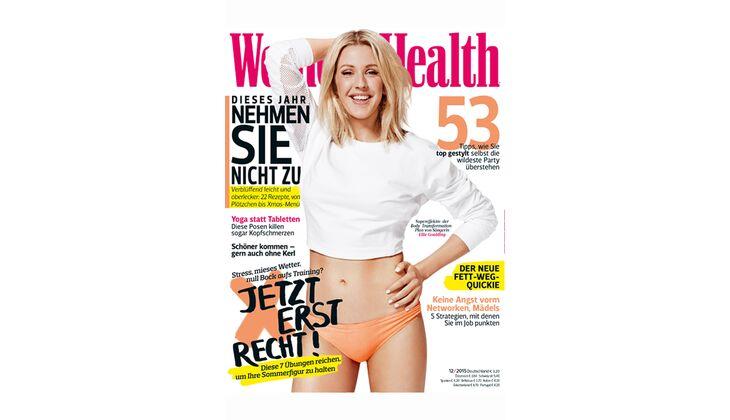 Women's Health Cover 2015: Ellie Goulding
