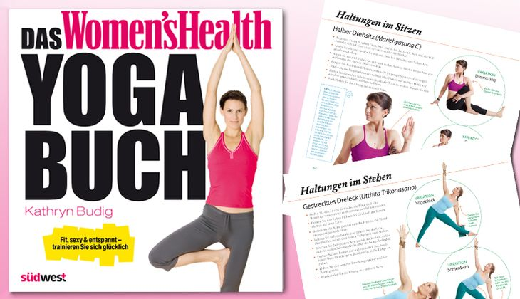 Women's Health Yoga Buch erschienen