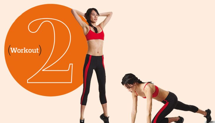 Workout 2 – Fett weg in Intervallen