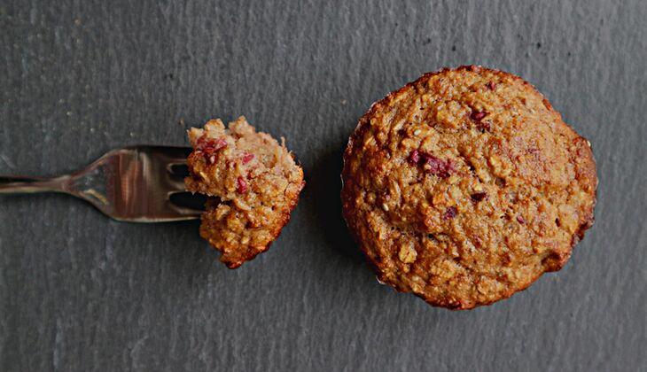 Zuckerfreie Frühstücks-Muffins ohne Mehl
