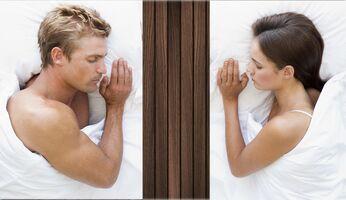 Zusammen schlafen hat seine Tücken