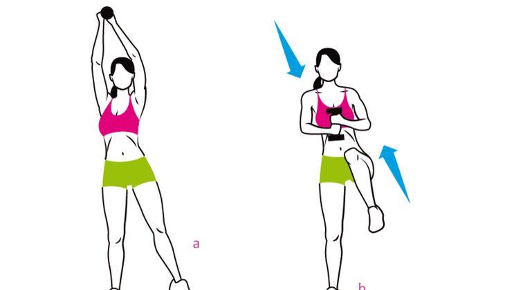 15 Minuten Workout Für Sexy Sixpack Womens Health