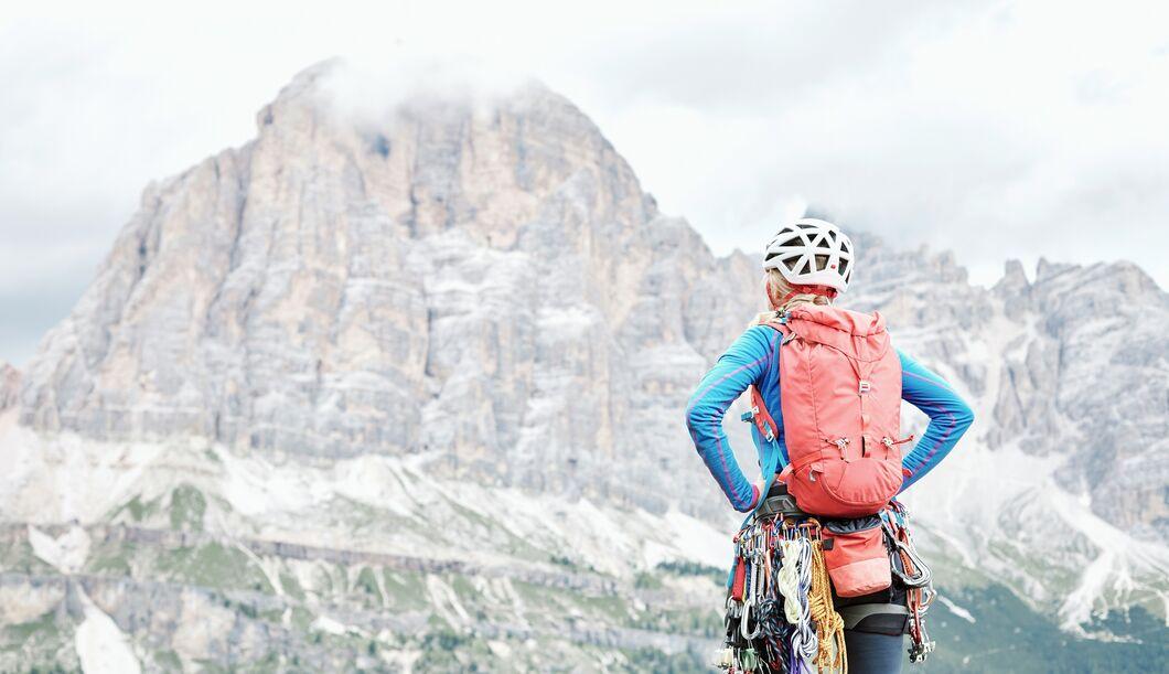 Für einen sicheren Aufstieg am Klettersteig