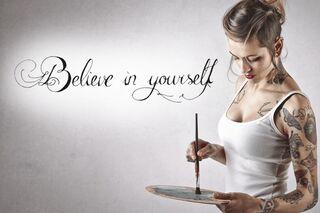 Literatur Für Die Haut Tattoo Sprüche Womens Health