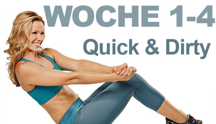 Bauch übungen Aus Dem Trainingsplan Womens Health