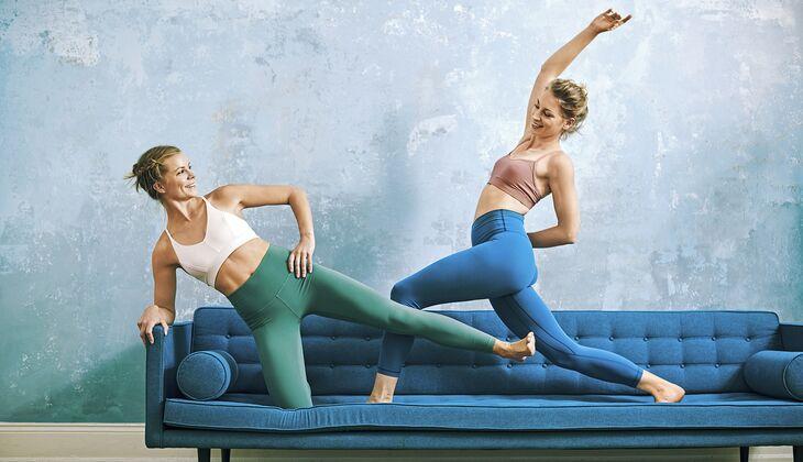 6 Fitness-Übungen, die du echt auf der Couch machst