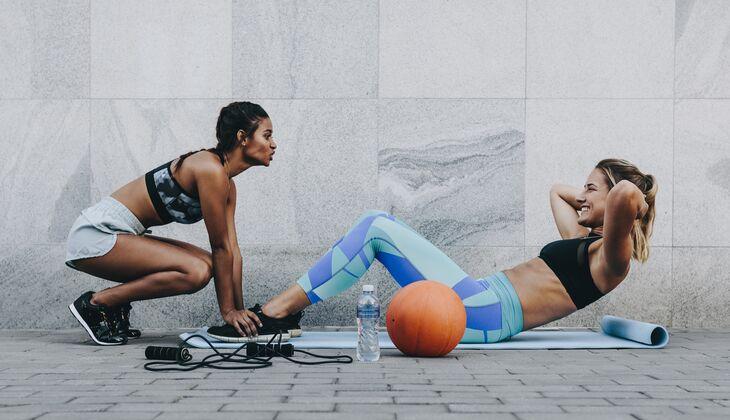 Die 4 Besten Bauchmuskelübungen Womens Health